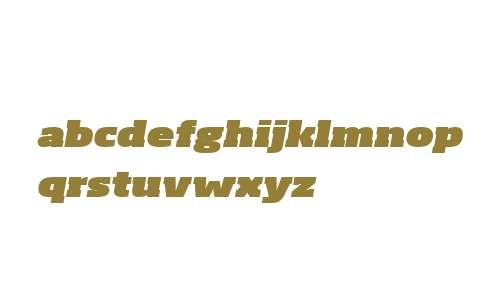 Soho W04 Ultra Extended Italic
