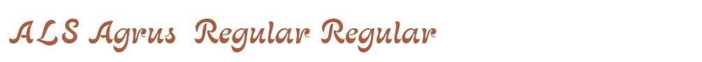 ALS Agrus  Regular