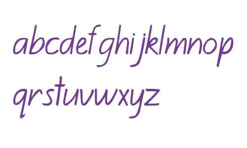 Kiwi School Handwriting Regular