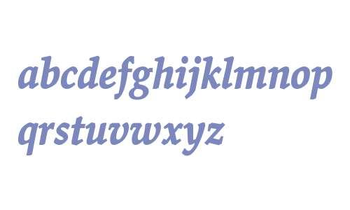 Valkyrie T4 Bold Italic