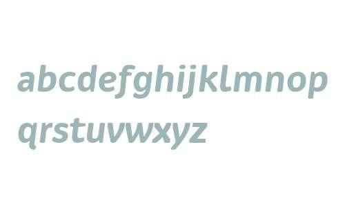 Ovink W00 SemiBold Italic