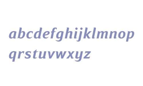 Ripe Apricot W08 Bold Italic