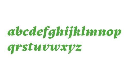 Kitsch Trial Extrabold Italic