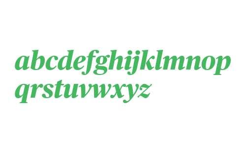 Publico Headline Web Exbold Italic