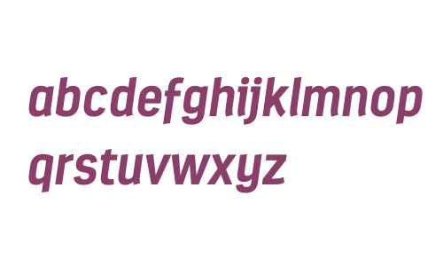 Estandar W03 Bold Italic