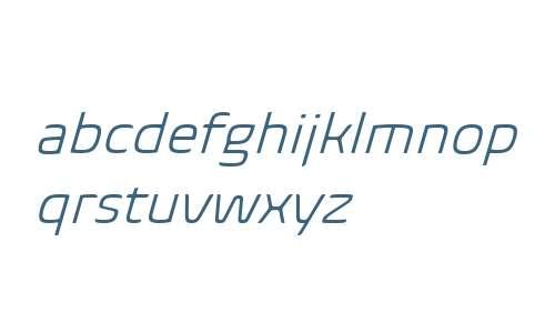 Biome W01 Light Italic