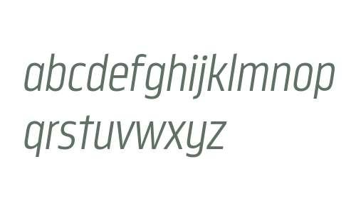 Nordikka W00 Light Italic