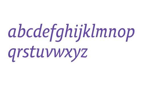 OksanaTextNarrowDemiBold-Italic
