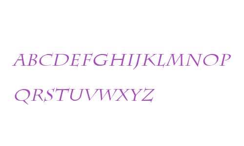Chaz Italic