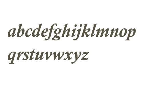 Calisto MT W04 Bold Italic