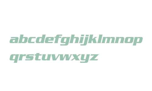 Serpentine W04 Bold Oblique