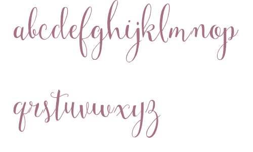 Mulberry Script W01 Regular V2
