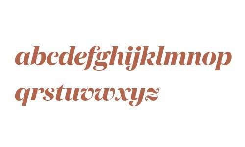 Domaine Display Bold Italic Regular