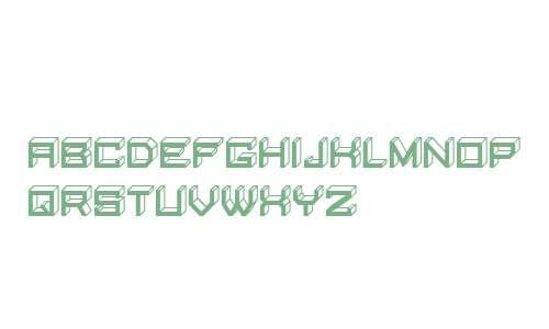 Blocky Letters Inverted Regular