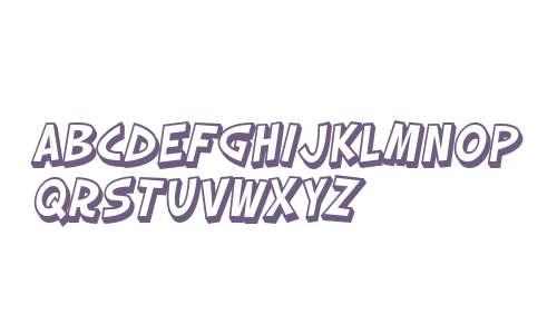 SF Slapstick Comic Shaded Oblique V1