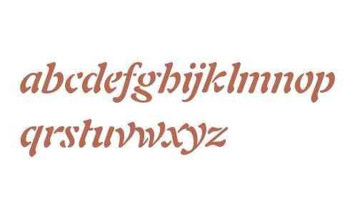 Freeform 721 Bold Italic