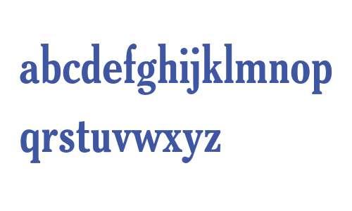 Cheltenham ATF Old Style Condensed Bold