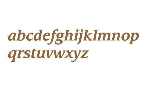 ITC Leawood Std Bold Italic