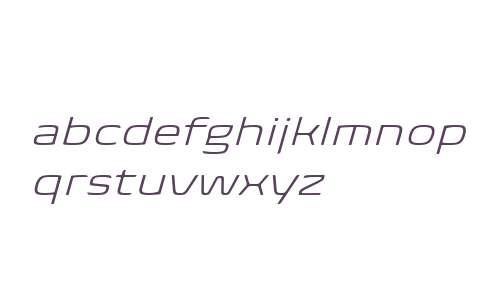 Biome W04 Light Wide Italic