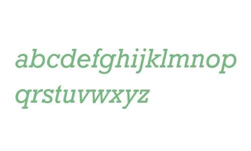 Rockwell Std Italic