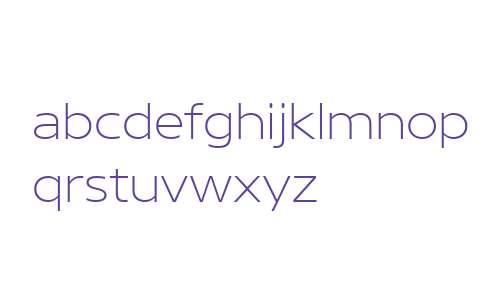 Core Sans N W01 23 XXLight