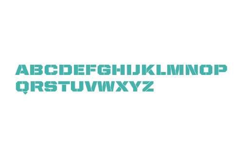 United Sans SemiExt Stencil