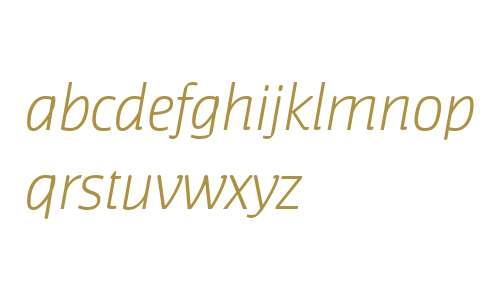 Jaures Light Italic