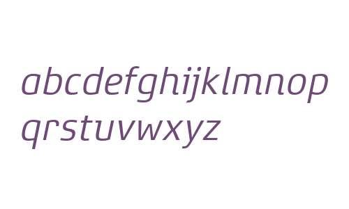 Xenois Super W04 Italic