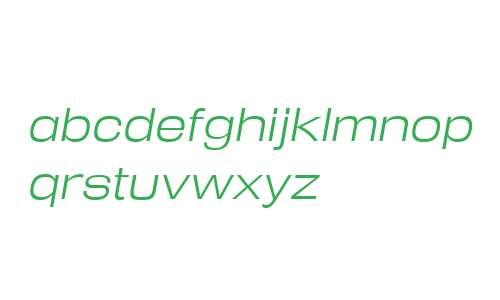 Reversal W00 Light Italic