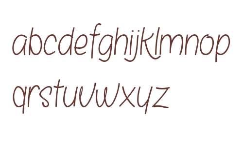 Bosanity SemiBold Italic