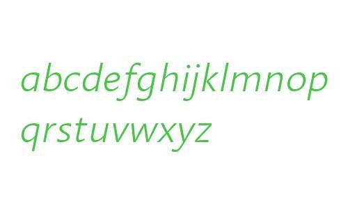 Linotype Aroma Light Italic V2