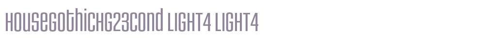 HouseGothicHG23Cond LIGHT4