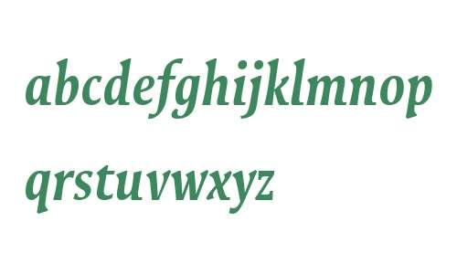 Galena W00 Cond Bold Italic
