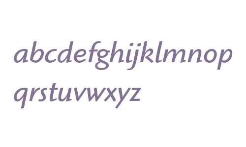 Highlander ITC Book Italic