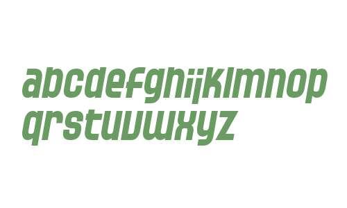 SF Speedwaystar Bold Italic