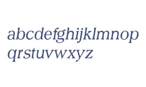 URW Scenario W01 Light Italic