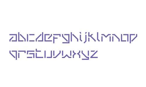 VanBerger W00 Stencil