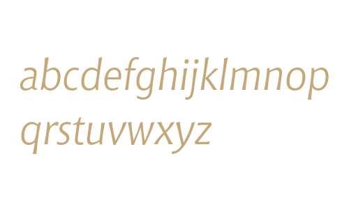 Bitstream Chianti Italic