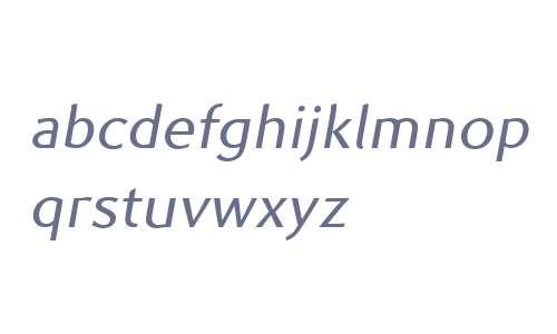 Prell W00 Regular Italic