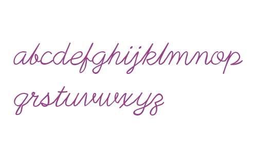 PlainPensle W00 Italic