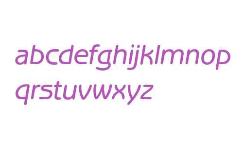 Benguiat Gothic* Medium Italic
