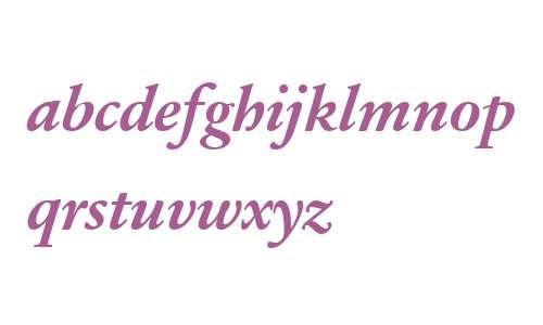 Sabon Next LT W04 Bold Italic