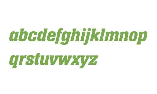 Neue Aachen W04 Semibold Italic