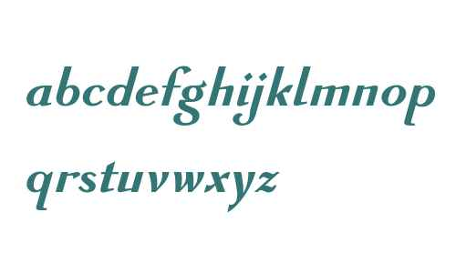 GHEA Avandakan W05 Bold Italic
