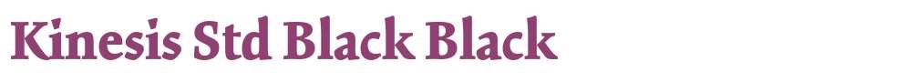Kinesis Std Black