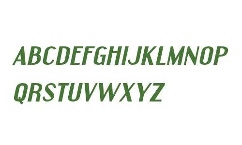 Engebrechtre Expanded Bold Italic V1