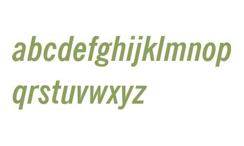 NewsGoth Cn BT W03 Bold Italic