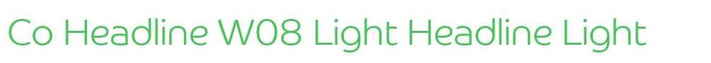 Co Headline W08 Light