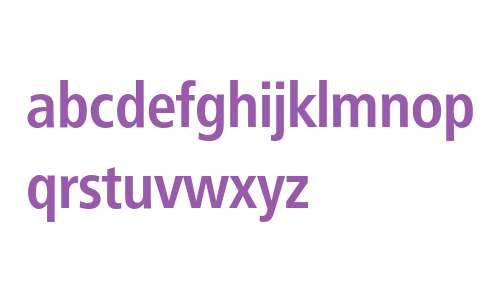 Frutiger* 67 Condensed Bold