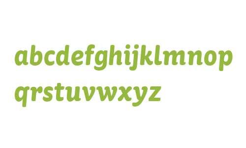 St Ryde W01 Bold Italic